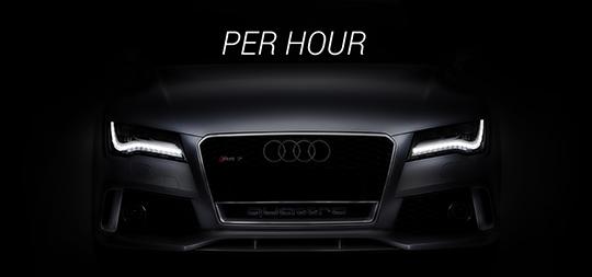 renta a car per hour